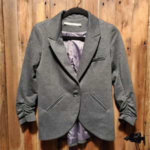 Gibson Gray single button jacket, size small